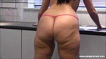 BBW PAWG Paige Turnah in bikini natural tits covers big ass in oil twerk lesbians - 69VClub.Com