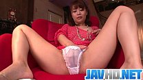 Free download video bokep Maika cums hard in this japanese masturbate video