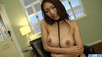 Reiko Kobayakawa endures fat dick in her creamy pussy thumbnail