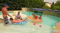 Spring Break Pool Party Fuck Off With Alice & Christen Courtney