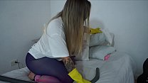 Latin Maid Exposed in a Porn Video