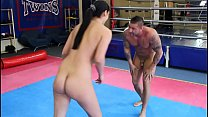 Diana Stewart Vs  Zsolt   Nde Erotic Mixed Wres