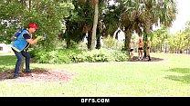 BFFS- Hot Pokemon Teens Fucked By PokemonGo Player Image