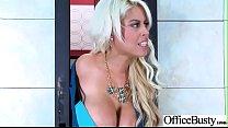 Slut Horny Girl (Bridgette B) With Big Melon Tits Enjoy Sex In Office video-9 Preview