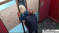 Slut Horny Girl (Bridgette B) With Big Melon Tits Enjoy Sex In Office video-9 صورة