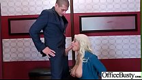 Slut Horny Girl (Bridgette B) With Big Melon Tits Enjoy Sex In Office Video-9