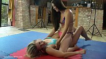 Orsi.b vs. Victoria - Female Wrestling and Tickling 45' preview image