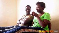 African Booty Drilled by Boyfriend's BBC