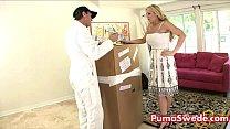 European Mail Order Babe Puma Fucks Her New Owner Tyler Faith! - 9Club.Top