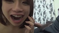 Asian girl finishing a blowjob, cum in mouth (cim) and swallowing video