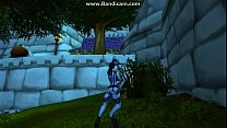 *FUTA* She came a little. draenei dance world of warcraft