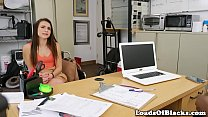 Casting amateur screwed by black agent - 9Club.Top