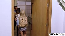 Image: TUSHY Two College Students Gape For Their Professor