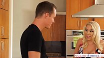 Big tits MILF Katie Morgan fucks a young big dick - Naughty America - VideoMakeLove.Com
