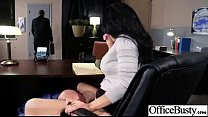 Sex Scene In Office With Slut Hot Busty Girl (jayden jaymes) video-13
