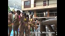 Asianwebcamgirls.net shower then bikini party i...