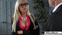 Busty Office Girl (nina elle) Get Busy In Hardcore Sex Scene clip-25's Thumb