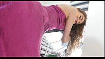 Tiny4k - Skinny Rebel Lynn strips off dress and enjoys big dick