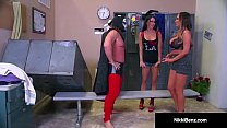Nikki Benz & Jessica Jaymes Get Drilled By Wrestler's Cock! preview image