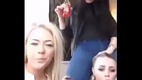 Swedish blondes flash on periscope thumb