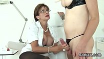 Unfaithful british mature lady sonia displays her oversized tits