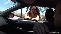 Street Teen sales her self charity bangs