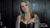 Studentin Aira 24j. beim BDSM Sklaven-Casting Vorschaubild