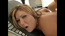 Claire Dames riding hard cock
