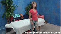 18756 Brunette teen babe hidden cam massage room fucking preview
