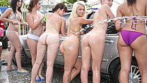 Girls with cars naked