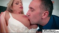 (Brooklyn Chase) Busty Sexy Office Girl Busy In Hard  Sex Act video-09 Thumbnail