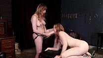 Step mom anal fists teen in lingerie Image