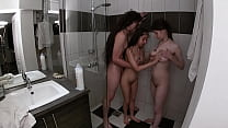 Taking A Threesome Shower With My Girlfriend An