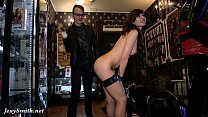Jeny Smith - naked sales girl meet customers in a sex shop Preview