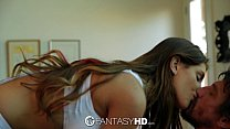 FantasyHD - Canadian babe August Ames strips do...