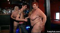 Three fatties join dirty party pornhub video