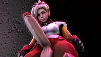 Futanari - Mercy & D.va Part 1 thumbnail