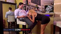 French Bartender Having Hot Anal Sex With Rose