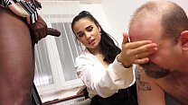 MISTRESS MIRA - XXXL LOAD CUM EATING CUCKOLD IN...