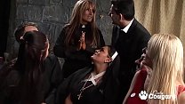 Horny Nuns Cut Loose And Have A Crazy Anal Orgy In Church Vorschaubild