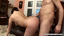 Teen Chubby Stepdaughter Doggstyle Couch Fucked - 9Club.Top