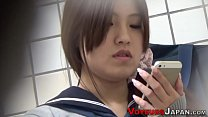 Uniformed japanese babe - 9Club.Top