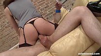 Mistress dominates and pegs young guy for the first time Vorschaubild