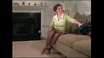 Dawn Desire Playing in Seamless Pantyhose video