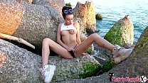 Sexy Tequila Outdoor Masturbation and Cumming! صورة