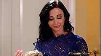 Petite lesbo stepdaughter gets pussylicked preview image