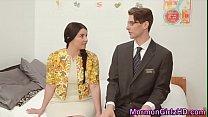 Mormon Girlfriend Jizzed