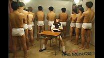 Bukkake Highschool Lesson 4 1/4 Japanese uncensored blowjob Thumbnail