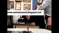 hidden secretary in doggyfucking office by rabit boss office
