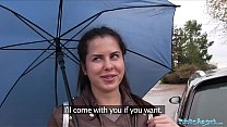heroines porn: public agent wet russian spreads legs for cash thumbnail